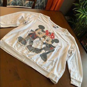 Sweatshirt, Disney, white